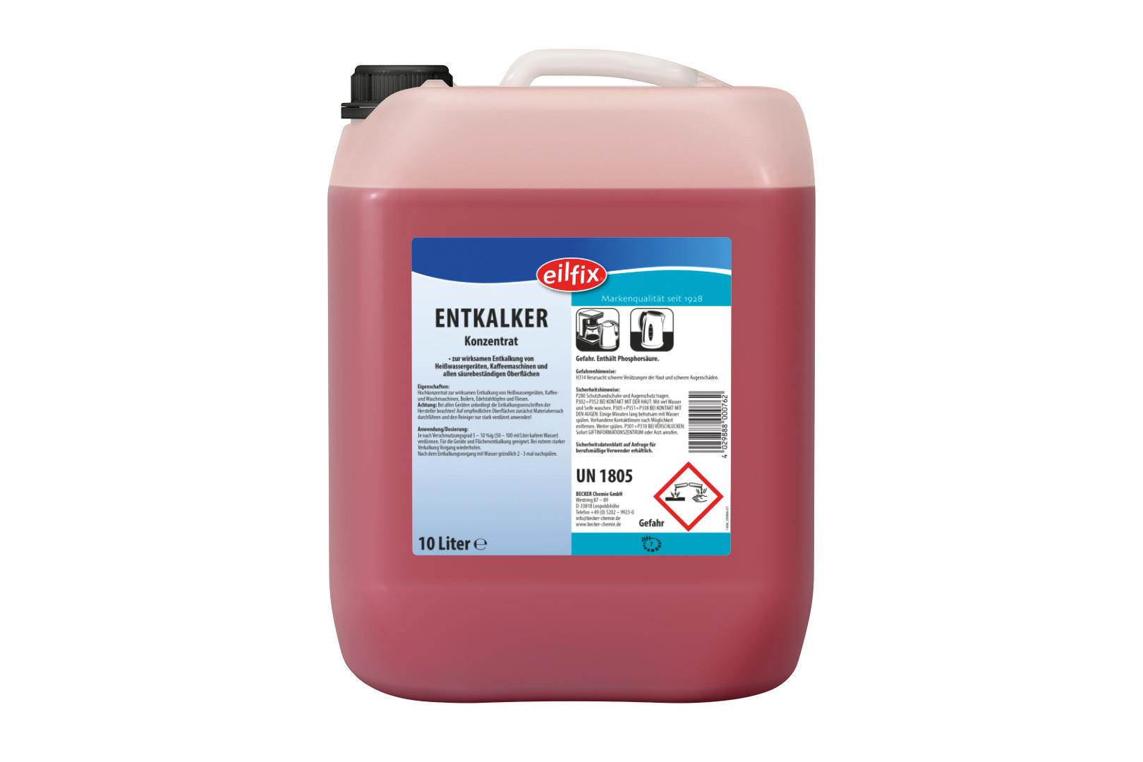 Hygienewelt GmbH Entkalker flüssig